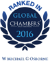 Chambers and Partners Global Ranking 2017
