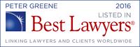 Petere Greene Best Lawyers 2016