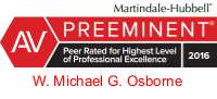 Michael Osborne AV Peer Review Rated